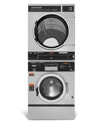troubleshooting support dexter laundry stack washer dryer