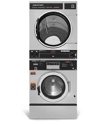 t 450 6 cycle swd express stack washer dryer on premise laundry